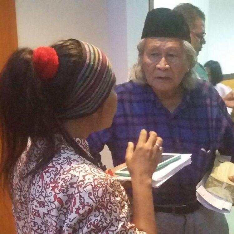 Saat Wawancara Dengan Ridwan Saidi ( Ahli Sejarah dan Budayawan Betawi