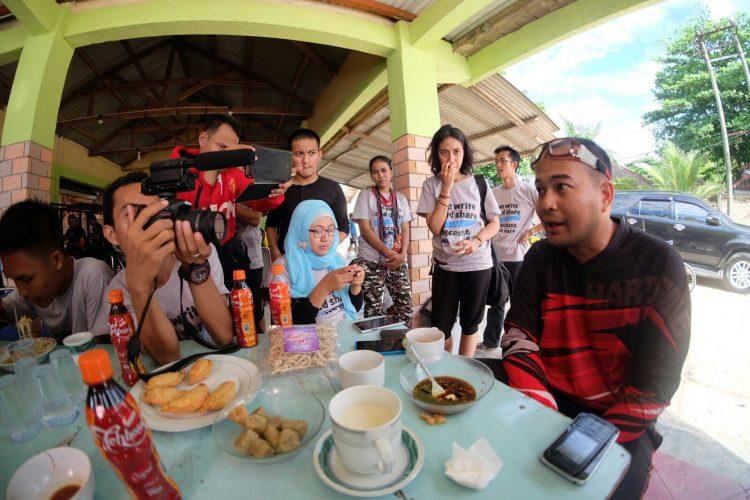 Blogger diajak berbincang-bincang santai
