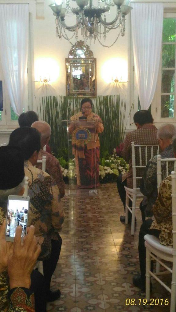 Putri Pertama Achmad Subardjo menceritakan kegiatan orangtuanya pada saat itu.