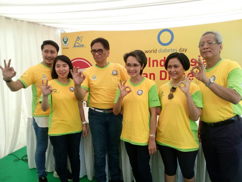 Edukasi Masyarakat Indonesia Lawan Diabetes