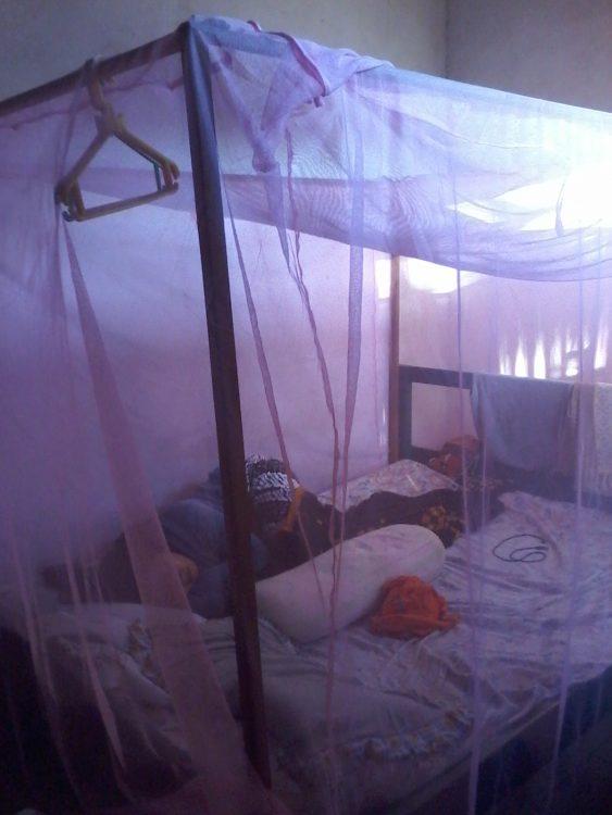 Tidur dengan kelambu