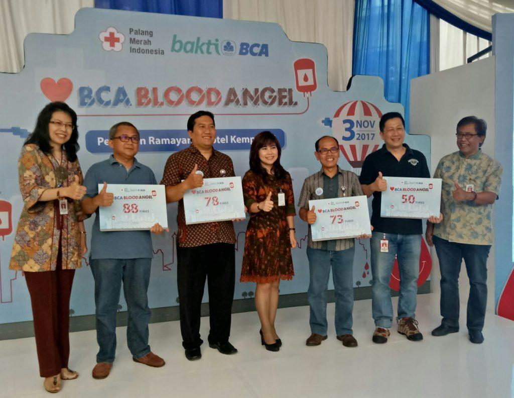 Penghargaan Pendonor Darah Terbanyak