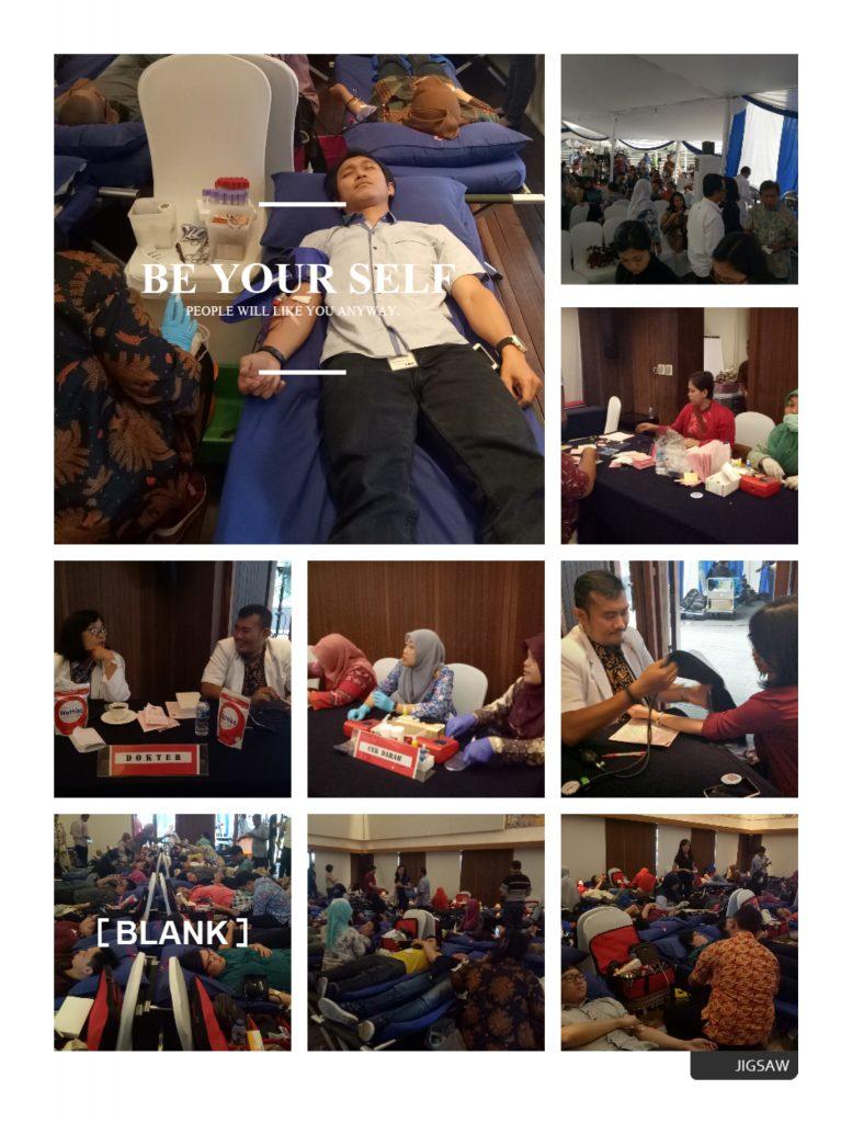 Kegiatan Donor Darah Ke -100.
