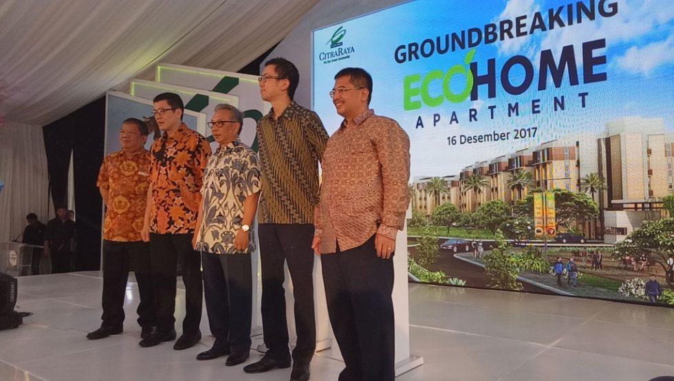 Groundbreaking EcoHome Apartement EcoPolis Citra Raya Tangerang