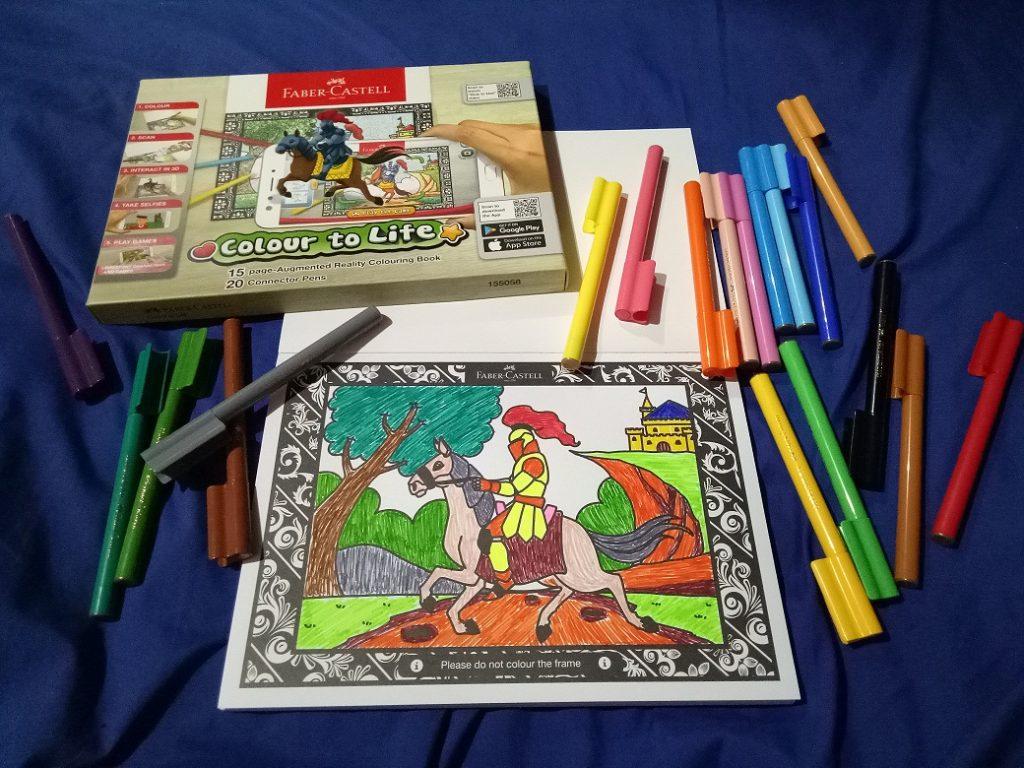 Colour To Life Asyiknya Mewarnai Dan Bermain Game Bersama Anak Faber Castell Seperti Yang Dilakukan Oleh Telah Menciptakan Sebuah Produk Baru Yaitu Gambar Kemudian Menghidupkan Tokoh Karakternya Kedalam