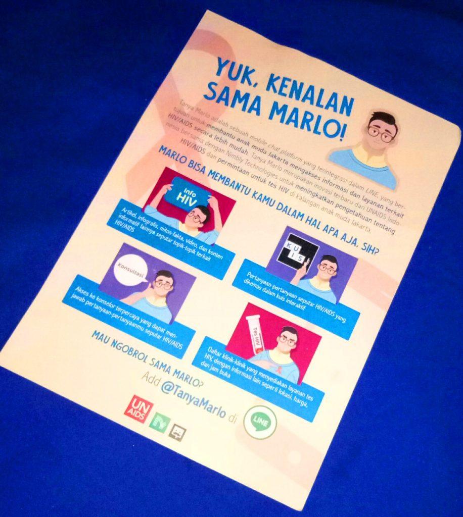 Temukan Informasi Hiv Dan Aids Di Chat Bot Tanya Marlo Petualang