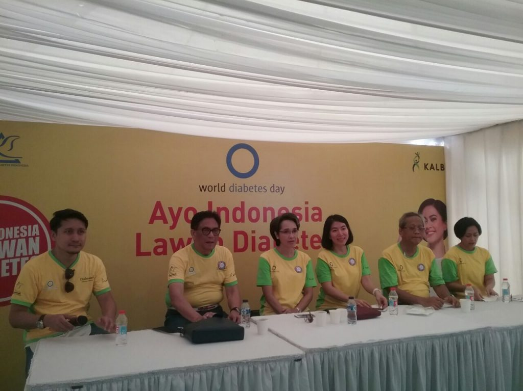 Press Confrense Kegiatan Kampanya Aksi #IndonesiaLawanDiabetes