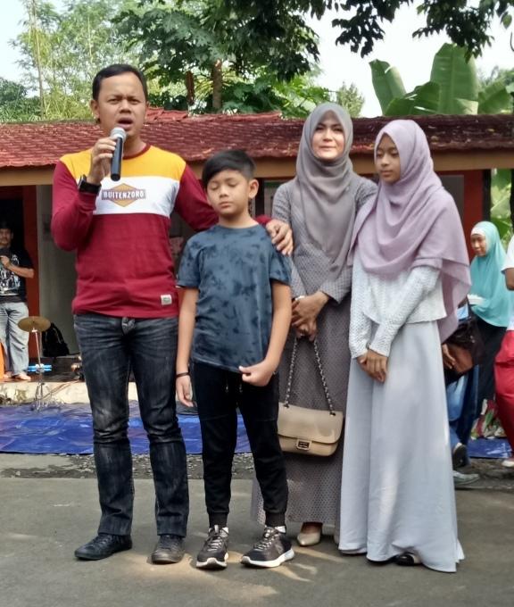 Walikota Bogor, Bima Arya dan Keluarga