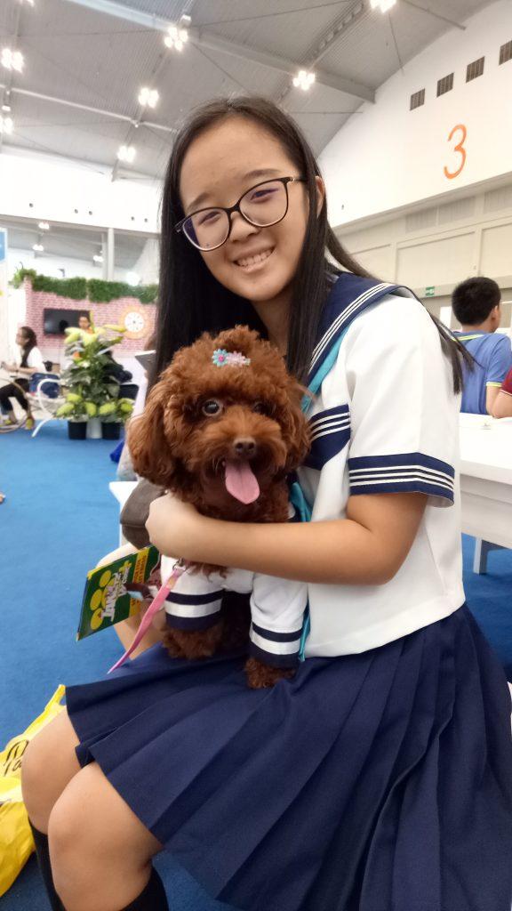 Pengunjung Indo Pet Expo (9/9/2017) : foto pribadi