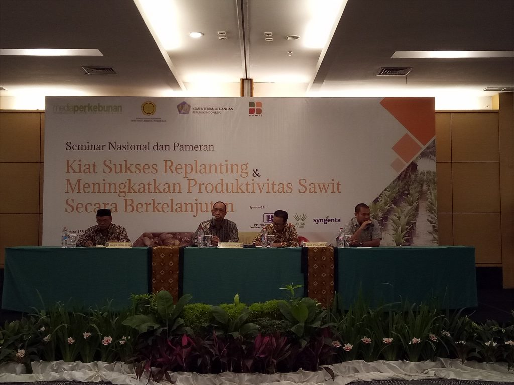 """Kegiatan Worshop Nasional dengan Tema : """" Kiat Sukses Replanting & Meningkatkan Produktivitas Sawit Secara Berkelanjutan """""""