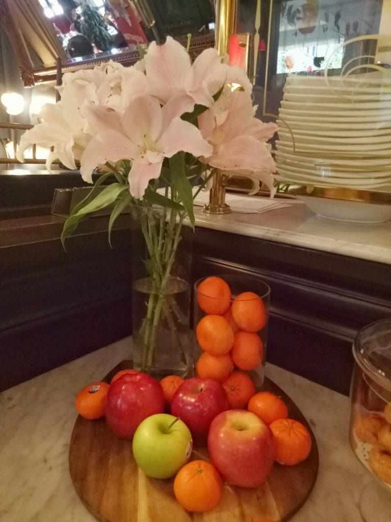 Buah Sehat dan Berkualitas Yang Menjadi Hidangan di Bistro Baron